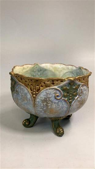 Lovely Amphora Footed Jardiniere