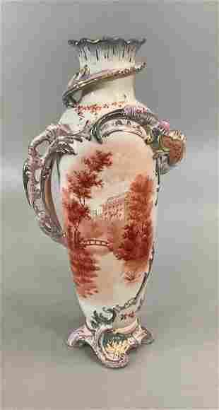 Royal Bonn Pictorial Vase