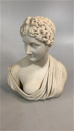 Classic Grecian Style Bust of Woman