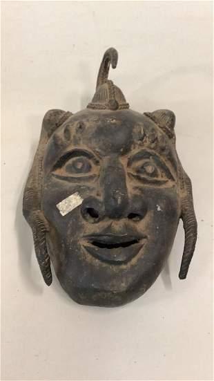 African Foumban Iron Mask