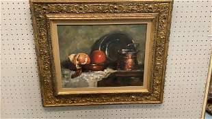 Oil on Canvas, Still Life