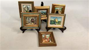 Six Oil Paintings, Elisabeth Paxton Oliver
