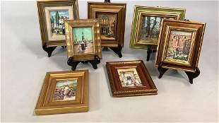 7 Oil Paintings, Elisabeth Paxton Oliver