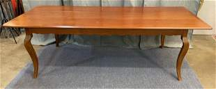Custom Made French Style Cherry Dining table