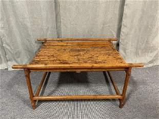 Pine & Oak Hide Stretching Table
