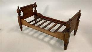 Hand Made Miniature Bed