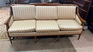 European Fruitwood Sofa