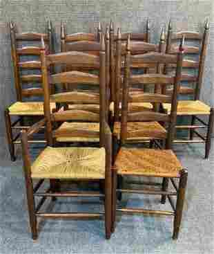 Set of 8 Sahdrach Mace Dining Chairs