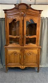French Provincial Pine Cupboard