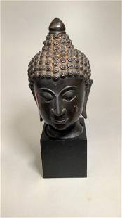 Bust of Serene Buddha