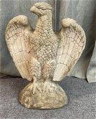 Vintage Concrete Eagle Statue