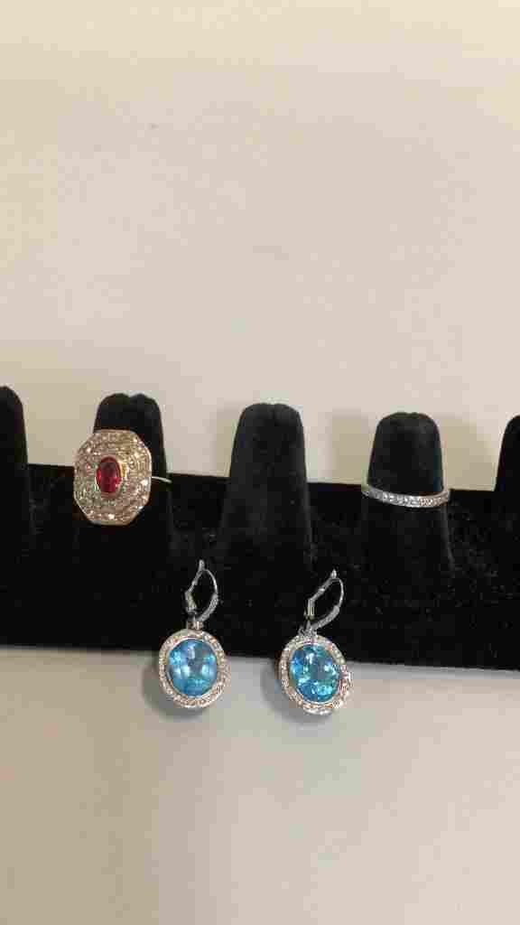 3 Pieces 14 k Jewelry