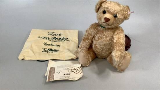 Steiff Zoe Bear, Limited Edition