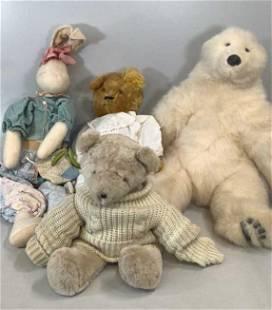 4 Oversized Bears, Rabbit