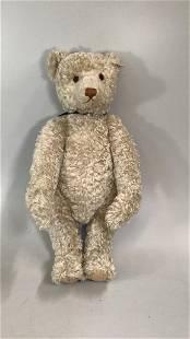 Steiff 1908 Replica Bear, White Curly