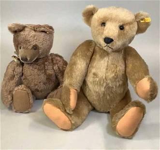 2 Steiff Bears