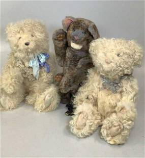3 Hand Crafted Animals, Wendy Brent?