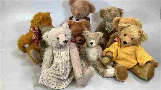 Collection of Non Steiff Animals