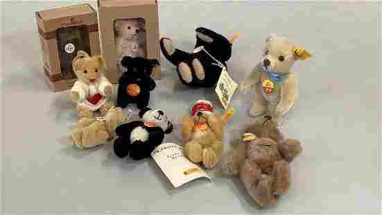 10 Steiff Miniature Bears