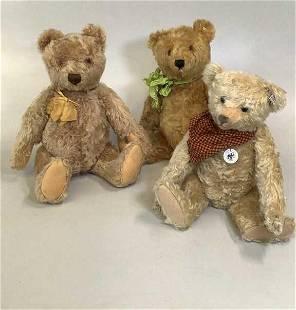 3 Steiff Bears