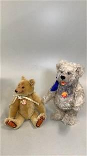 2 Steiff Limited Edition Bears