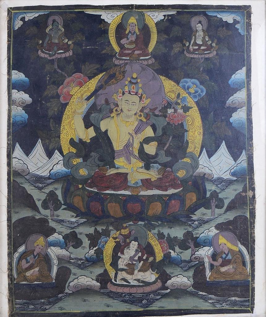19th Century Tibetan Thangka