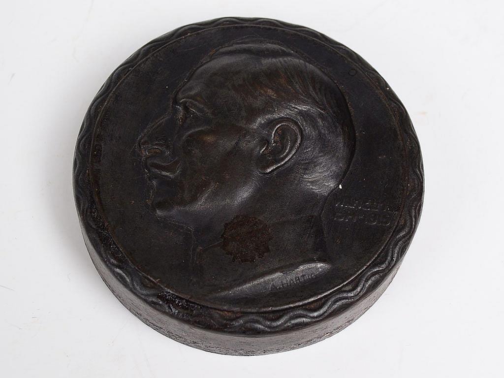 WWI Arnold Hartig (Austrian 1878-1972) Signed Wilhem II