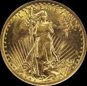 1907 $20 ST. GAUDEN'S GOLD
