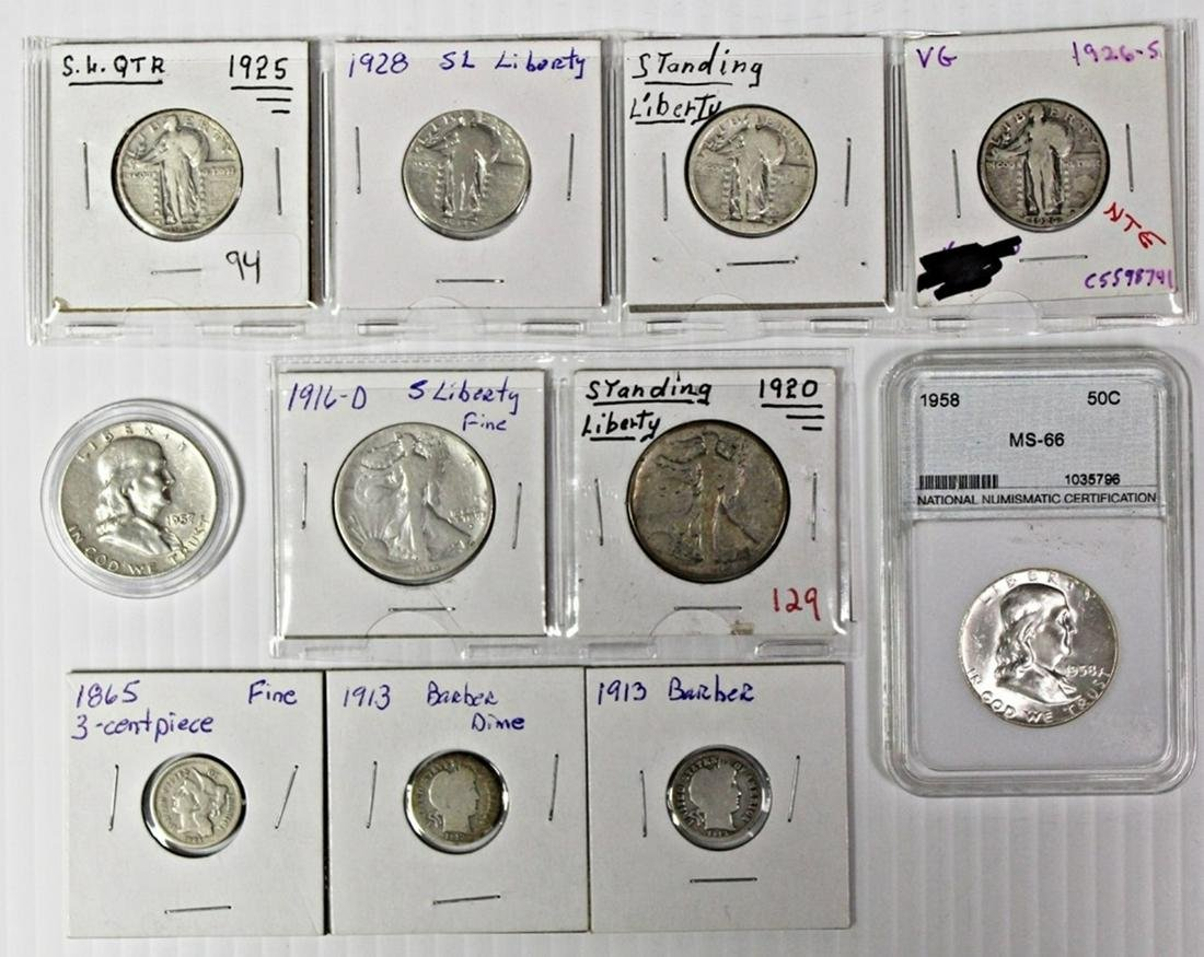 COIN LOT: SEE DESCRIPTION