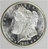 1881S MORGAN DOLLAR