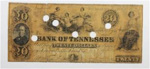 1862 20 BANK OF TENNESSEE