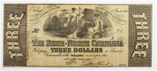 1862 3 STATE OF NORTH CAROLINA