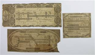 3 DIFFERENT VERMONT STATE BANK 18048