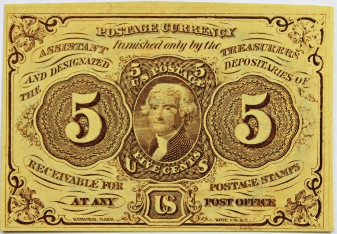 FIVE CENT FRACTIONAL