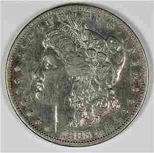 1883S MORGAN SILVER DOLLAR