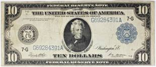 1914 1000 FEDERAL RESERVE NOTE