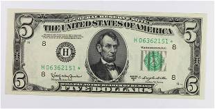 1950D 500 FEDERAL RESERVE NOTE