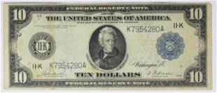 1914 1000 FEDERAL RESERVE NOTE DALLAS