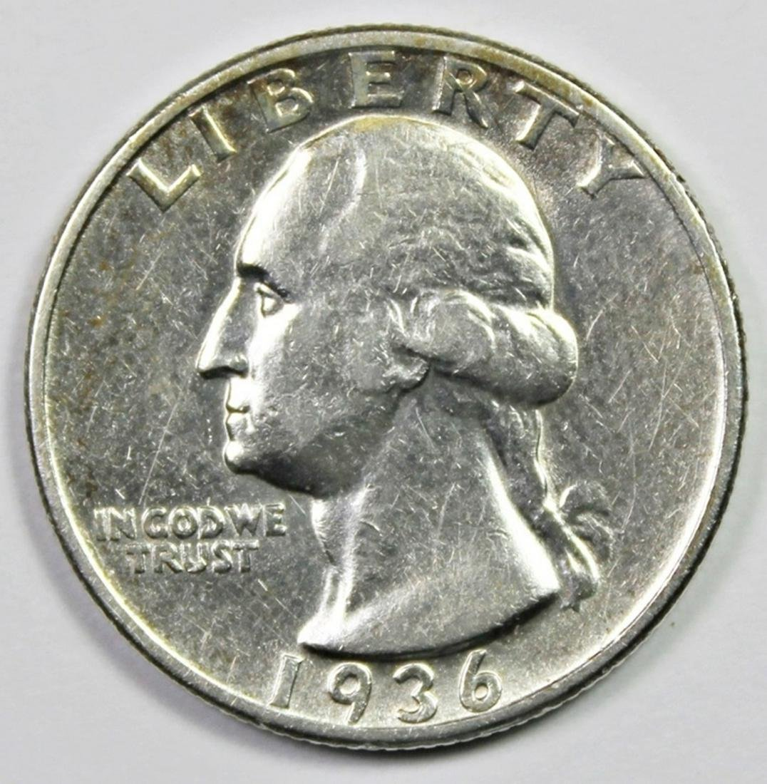 1936-D WASHINGTON QUARTER