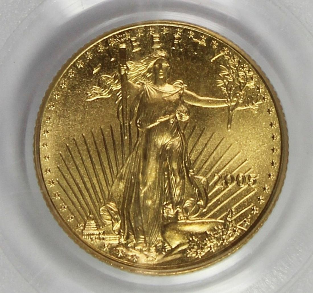 2005 $5 AMERICAN GOLD EAGLE