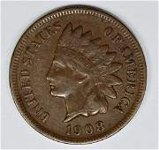1908S INDIAN CENT