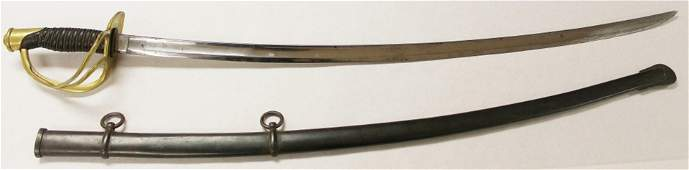 AMES CIVIL WAR SWORD WITH SCABBARD