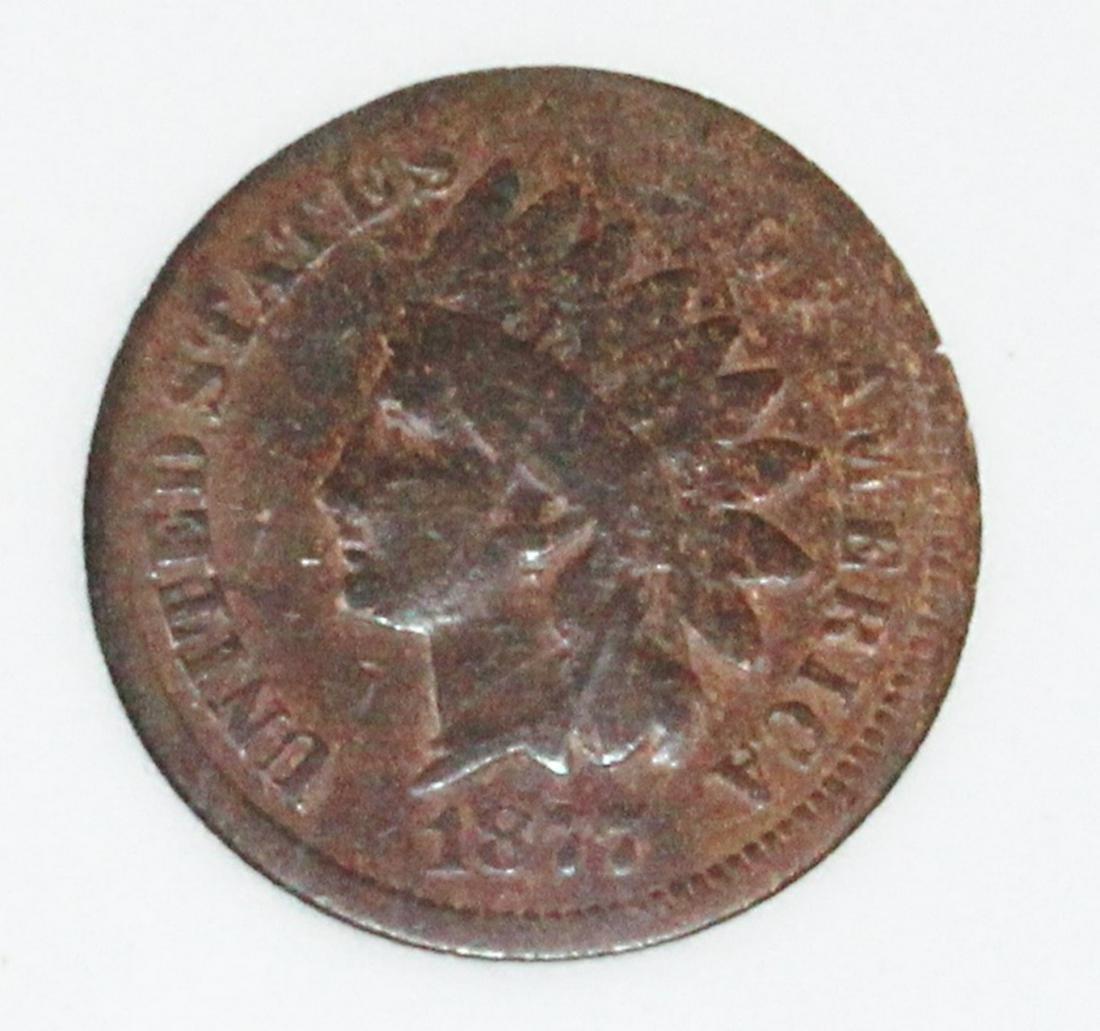 1877 INDIAN CENT