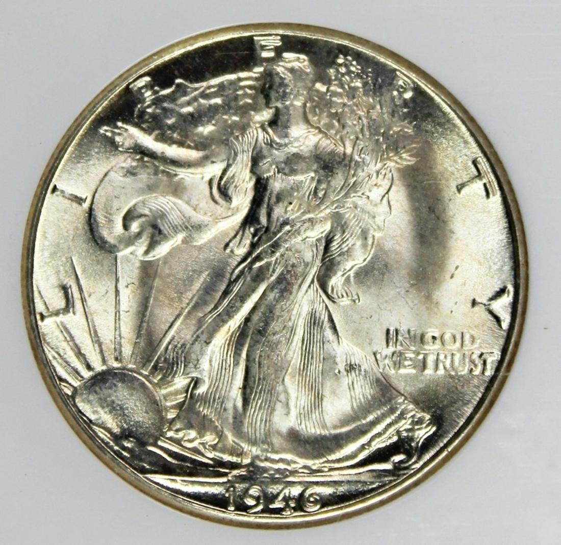 1946-D HALF DOLLAR