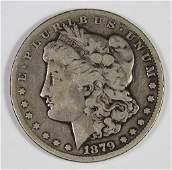 1879CC MORGAN SILVER DOLLAR