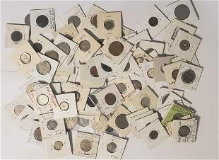 (2) BAGS OF FOREIGN COINS