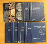 10 COMPLETE LINCOLN CENT SETS