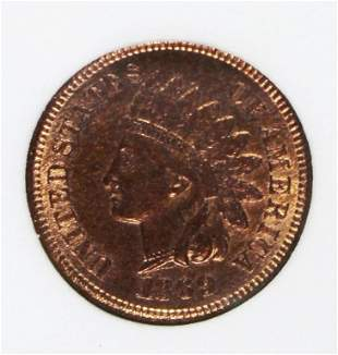 1869/69 INDIAN CENT