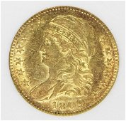 1809/8 $5.00 GOLD