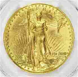 1907 $20 GOLD